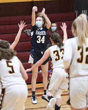 Somerset Berkley's Juliana Nassiff attempts a shot during a game against Case this season.