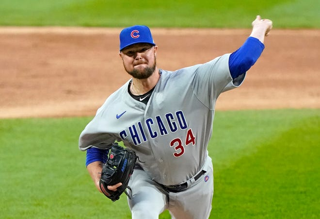 Left-hander Jon Lester was 77-44 with a 3.64 ERA in 171 starts with the Cubs.