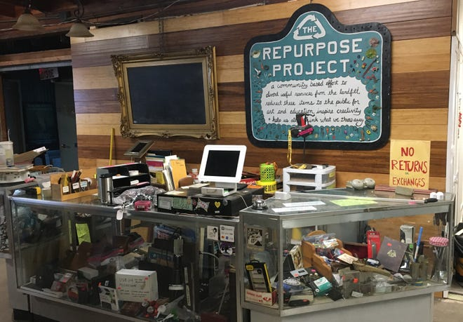 The Repurpose Project is a local nonprofit with the mission to divert resources from the landfill and keep them in use through a reuse system.