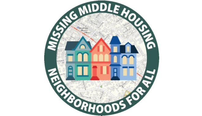 Logo for the Missing Middle Housing initiative.