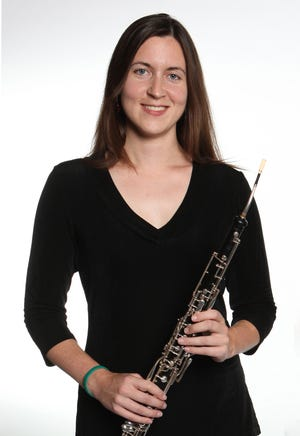"Central Florida musical standout Kristin Naigus will perform on the English horn during the Space Coast Symphony Orchestra's ""Sea Pictures"" concert Jan. 30."
