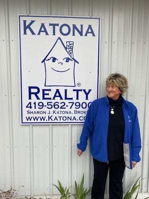 Sharon Katona is the owner of Katona Realty and was only the second female Realtor in Bucyrus.