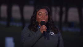 Metro Detroit nurse sings 'Amazing Grace' at inaugural event