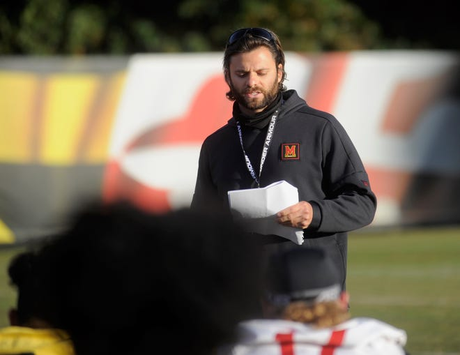 Former Maryland inside linebackers coach and special teams coordinator George Helow has been named Michigan safeties coach.