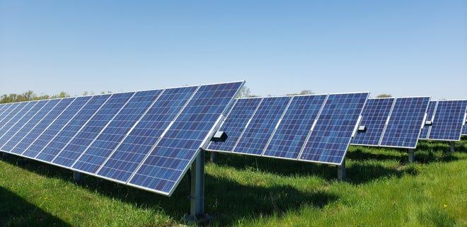 Alliant Energy is selling solar blocks for a 1-megawatt solar garden planned for the southwest side of the city.