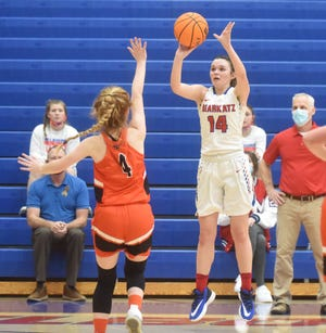 Images from Viola vs. Melbourne girls' basketball game on Monday night.