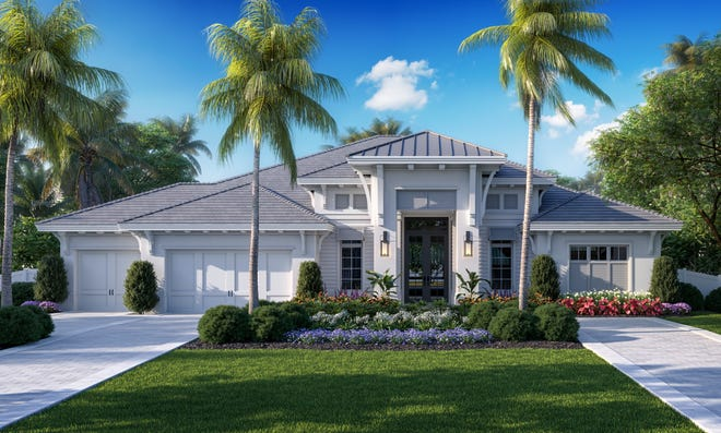 Borelli Construction's newest luxury model is located at 705 Anchor Rode Dr.