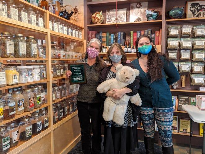 Shelley McClean, Naava Koenigsberg and Alegra Link of Bear Creek Herbs.