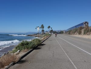 STAR FILE PHOTO Marathon runners will take to a course along Pacific Coast Highway that starts at Emma Wood State Beach on Sunday.