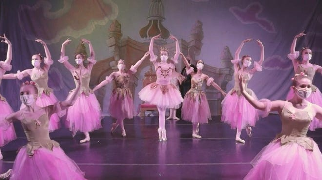 """Wausau-area students perform """"The Nutcracker"""" during filming for the Central Wisconsin School of Ballet."""