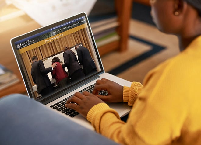 Evan W. Smith Funeral Services' high-quality live streaming of funerals and memorial services keeps guests safe while still connecting loved ones during their time of loss.