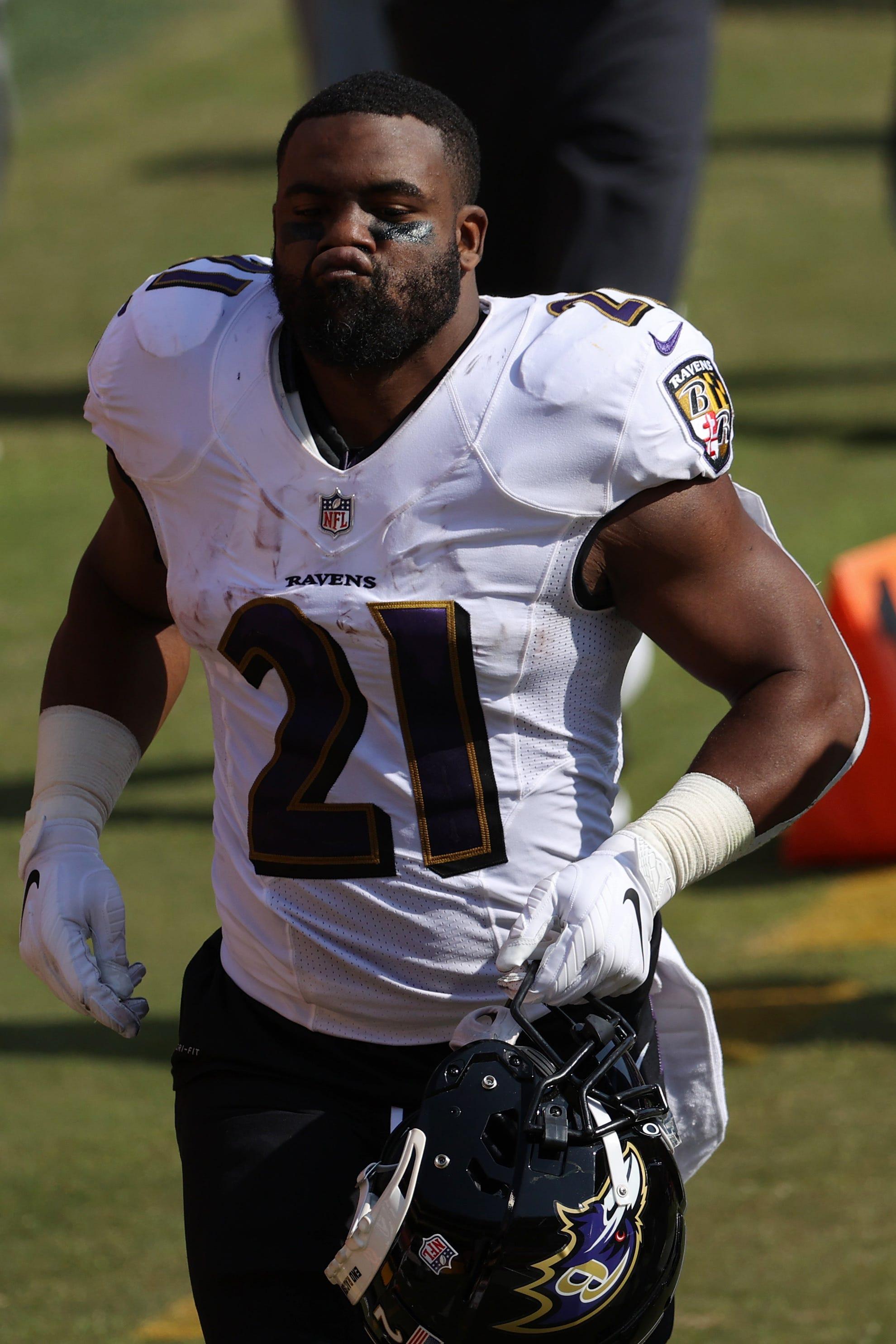 Reports: Baltimore Ravens to release veteran running back Mark Ingram II