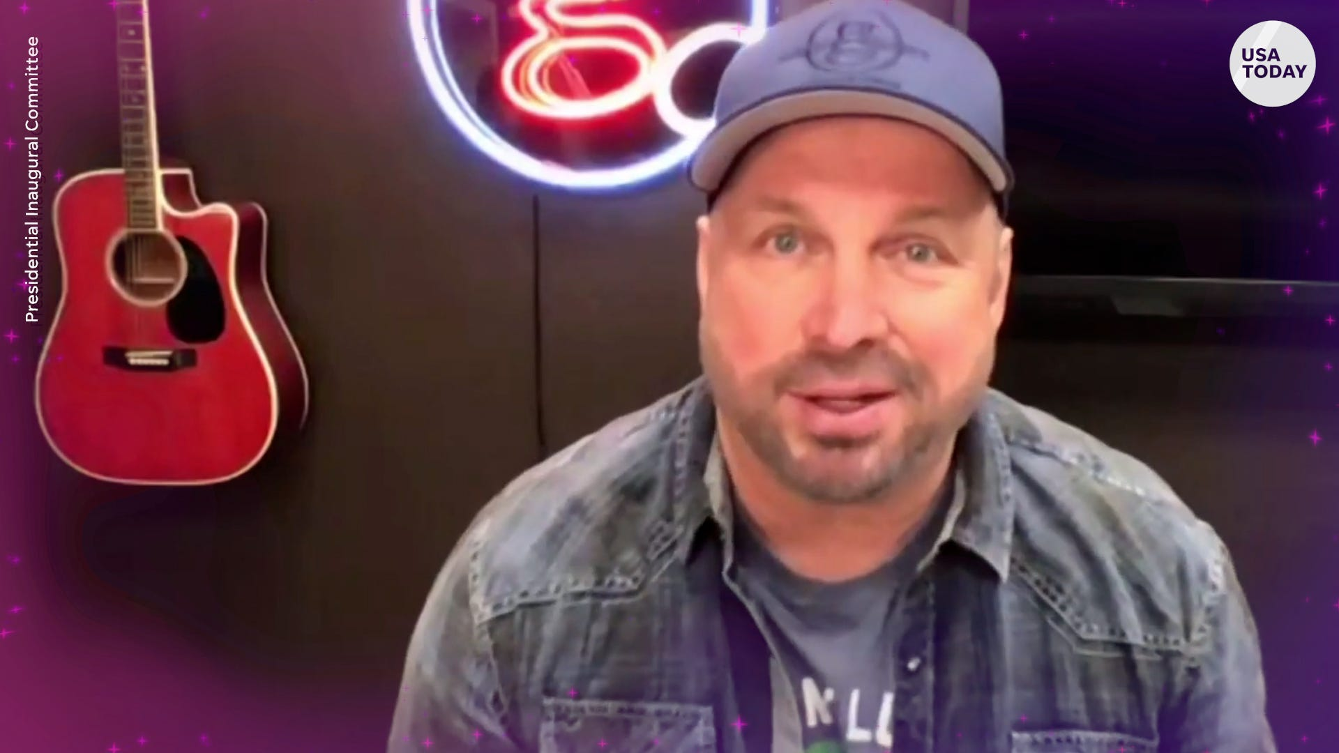 Garth Brooks added to inauguration lineup that includes Lady Gaga, Jennifer Lopez