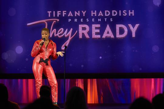 Comedian/actress Tiffany Haddish