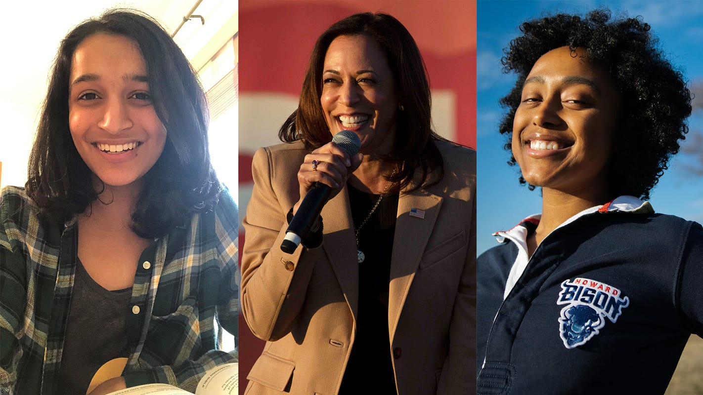 Kamala Harris' ascension marks a pivotal moment in history. Young women say her inauguration may finally allow them to savor what has been won.