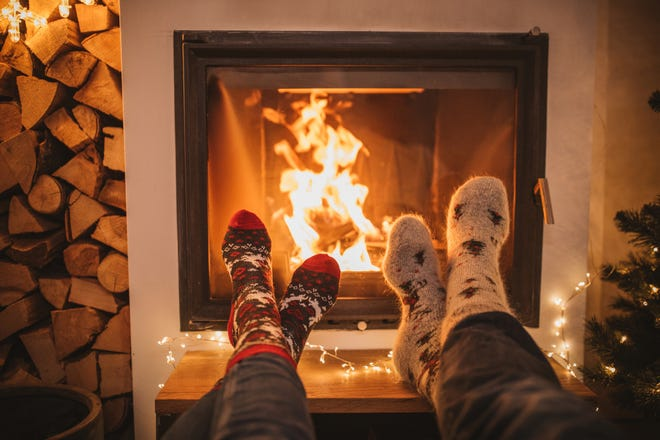 Though it's comforting to gather around a fire during the winter months, it's important to do it safely.