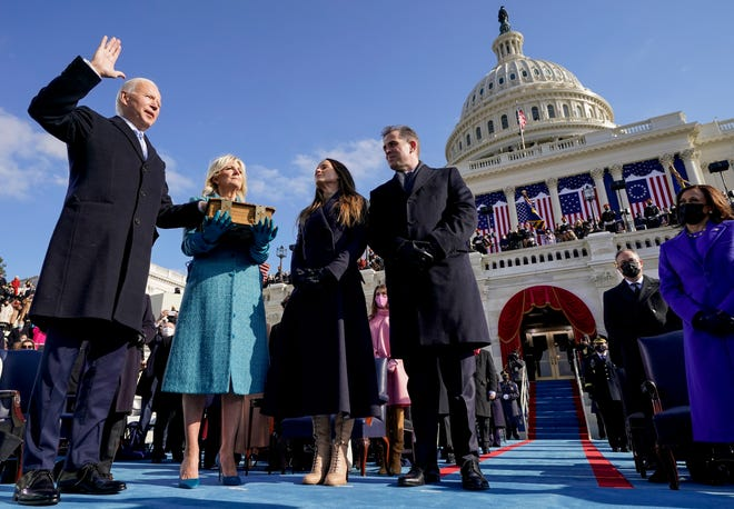 Joe Biden is sworn in as the 46th president of the United States on Jan. 20. Democracy prevailing is nothing special, a reader writes.