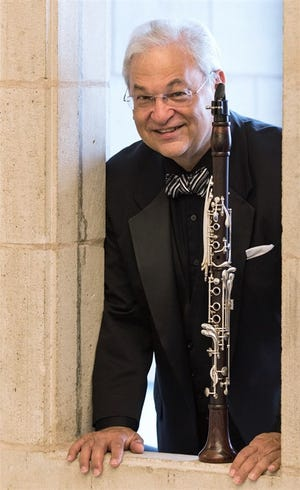 Award-winning clarinetist David Shifrin will be featured in the first event of Ames Town & Gown Chamber Music Association's new season, which has a lineup of six virtual concerts, all free of charge.