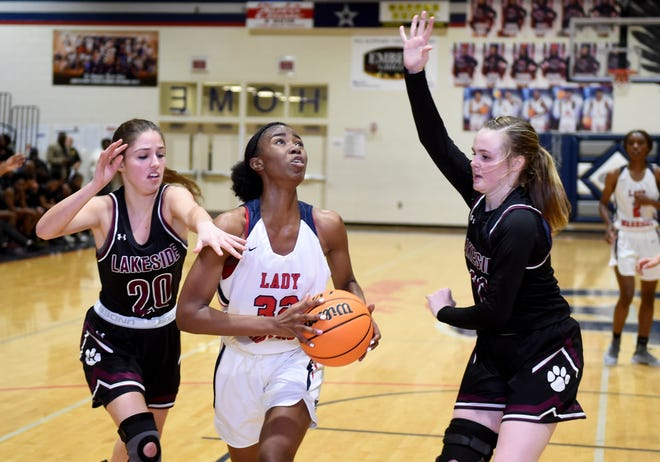 Coming off Region 3-AAAAAA Player of the Year honors, Grovetown's Keona Curtis continues to grow as a leader for the Lady Warriors. The junior is gaining interest from Division-I college programs as she develops as an all-around offensive threat.