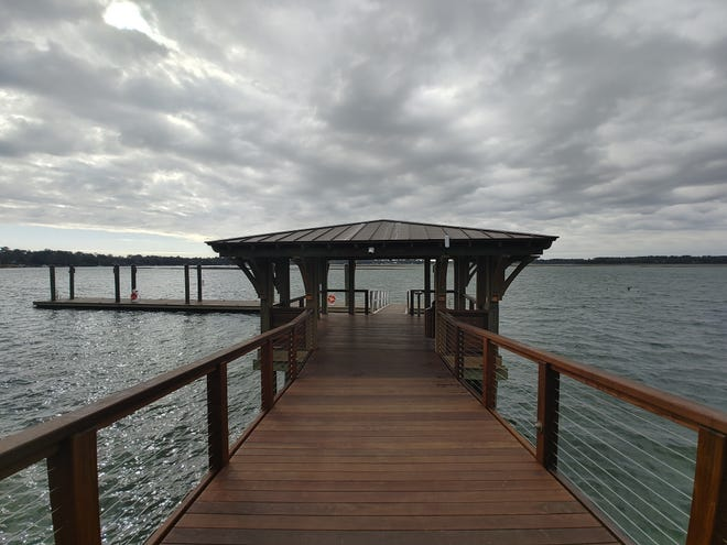 The new Calhoun Street Regional Dock on the May River is now open to the public.