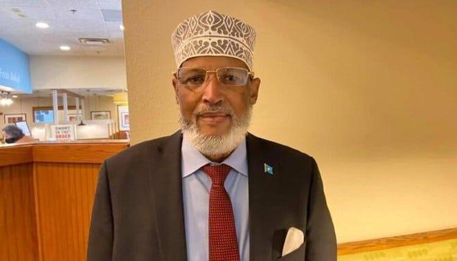 Abdikarim Ali Omar, 70,  former Somali ambassador to the U.S., died Wednesday in Columbus.