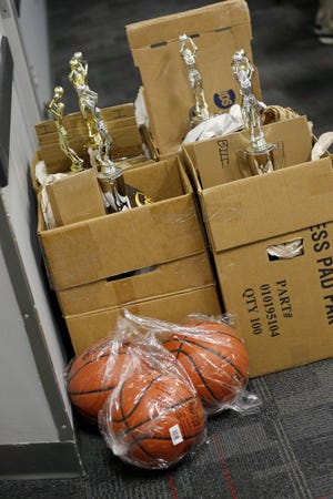 Trophies went unawarded and basketballs unused when the state girls basketball tournaments were canceled last March 12.