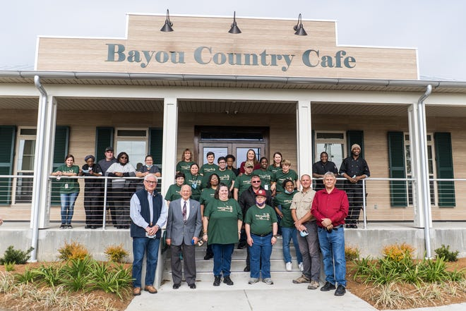 TARC celebrates the grand opening of the Bayou Country Café, providing more work opportunities for individuals with intellectual disabilities.