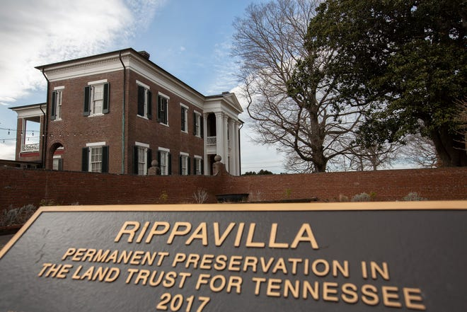 The Rippavillahistoric home and museum located inSpring Hill, Tenn. is listed on the National Register of Historic Places.