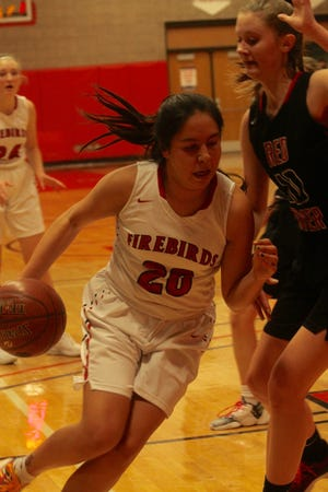 Devils Lake girls basketball defeated Grand Forks Red River, 61-59, on Jan. 19 at Devils Lake High School.