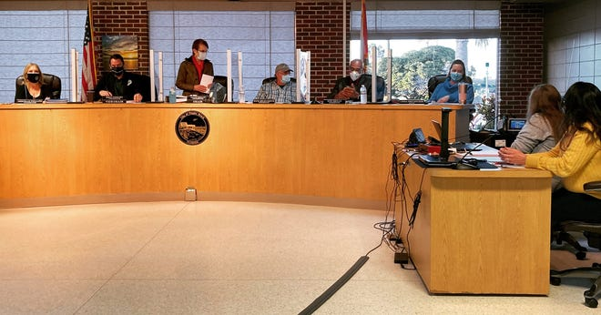 Flagler Beach City Commissioners unanimously approved extending the city's coronavirus state of emergency and the wearing of facial coverings in government buildings during a meeting on Tuesday.
