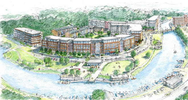 Carthartes has unveiled its latest plans for development of the Dover waterfront.