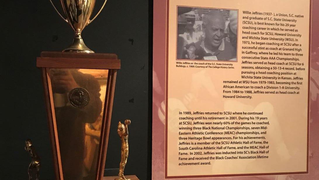 Granard High School trophy