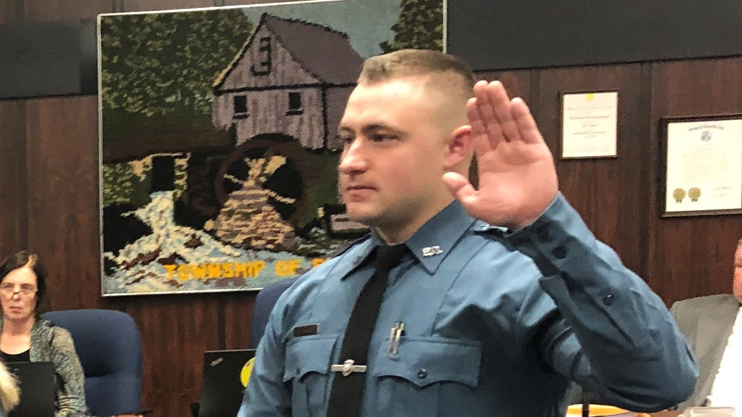 Byram cop fired after Facebook comments sues for job back