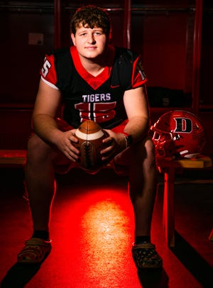 Dunnellon quarterback Trent Townsend is this year's Ocala Star-Banner Offensive Football Player of the Year.