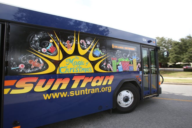 The SunTran bus system is conducting a survey to determine future routes.