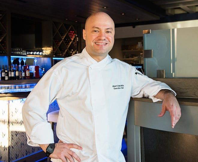 Albert Crifaci Molla is executive chef at Acqua Cafe.
