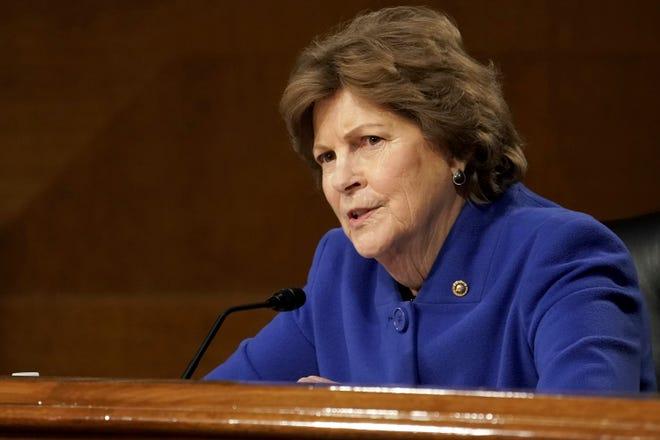 Sen. Jeanne Shaheen, D-N.H., speaks on Capitol Hill, Tuesday, Jan. 19, 2021, in Washington.