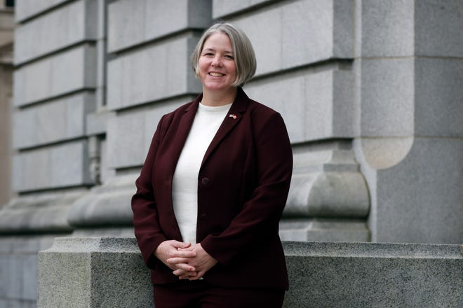 Nora Tyer-Witek, clerk of court for the U.S. District Court in Rhode Island, came to the position after 20 years with the U.S. Marine Corps.