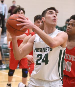 Minerva at Malvern Boys Basketball; Tuesday, Jan. 19. 2021.