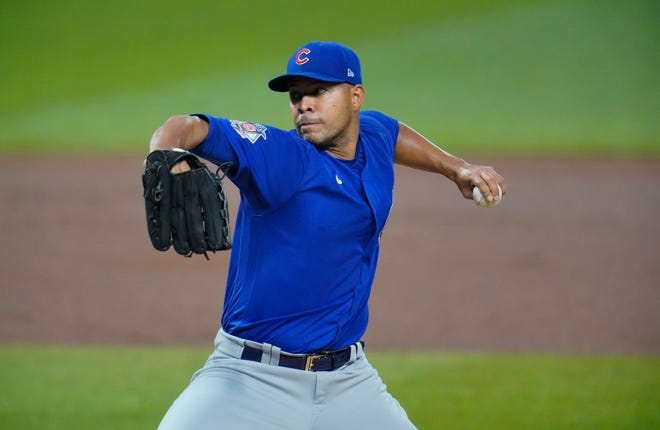 Former Chicago Cubs starting pitcher Jose Quintana has agreed to a $8 million, one-year contract with the Los Angeles Angels, a person familiar with the negotiations told The Associated Press on Tuesday night.
