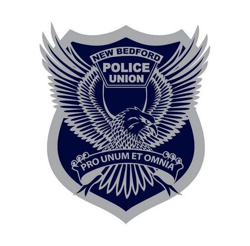New Bedford Police Union logo.