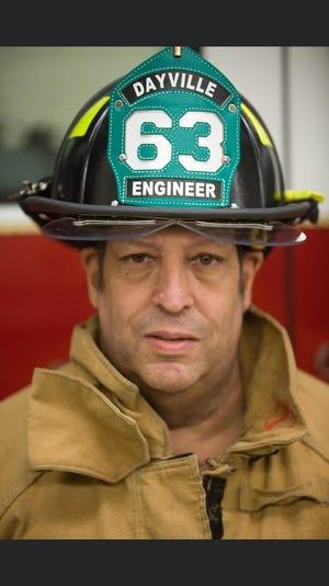Dayville Fire Co. volunteer Gary Cote