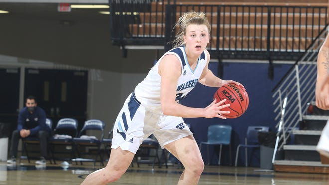 Washburn freshman Lauren Cassaday made the most of her first career start on Tuesday, setting career high in points (11) and assists (4) to help lead the Ichabods to a 73-49 win.