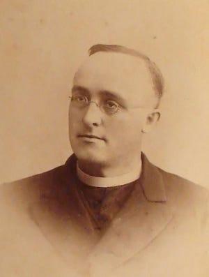 Monsignor James Coyle as a young priest, circa 1880