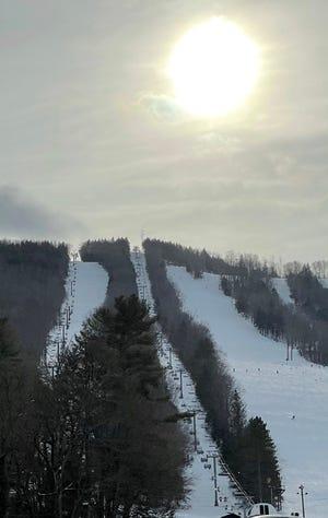 Berkshire East ski area in Charlemont, Mass.