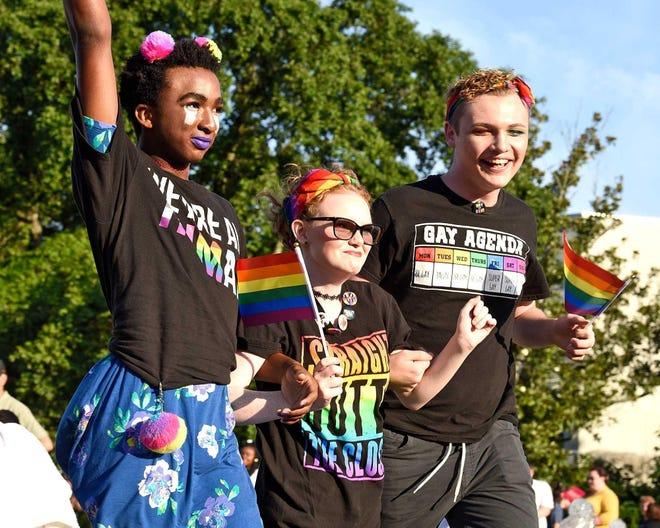 Pride Fest in Fayetteville.
