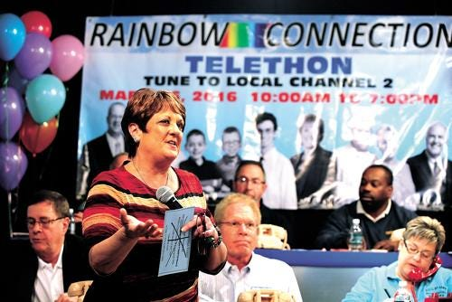 Carmel Haueter, who recently retired as Executive Director of the Rainbow Connection, was named the winner of the Hall of Fame Award by the Tuscarawas County Chamber of Commerce.