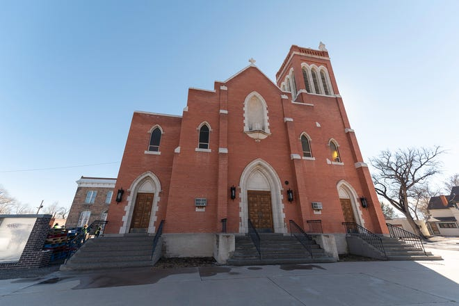 St. Patrick Church at 304 E. Routt Ave. was recently purchased by Catholic Charities of the Diocese of Pueblo, which will renovate the building into a family resource center.