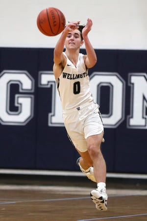 Senior Evan Henry has a larger role for Wellington this season, serving as the starting point guard. The Jaguars were 2-6 overall and 0-4 in the MSL-Ohio after losing to Worthington Christian 78-32 on Jan.20.