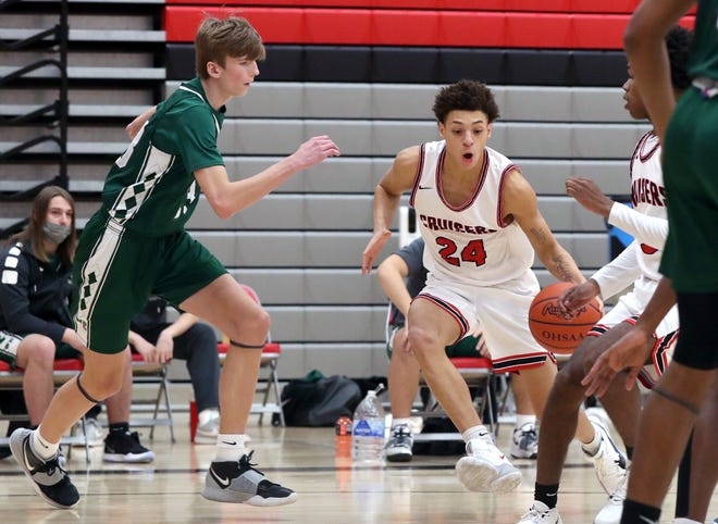 Kenyatta Whiteside has played all positions except point guard for the Groveport boys basketball team. The junior was averaging 11.6 points through seven games.